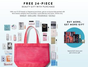 Free 24 Pc Beauty Gift with $125 Beauty or Fragrance Purchase @Nordstrom
