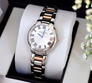 $499(原价$1,595)包邮雷蒙威茉莉花系列镀玫瑰金瑞士石英女表特卖