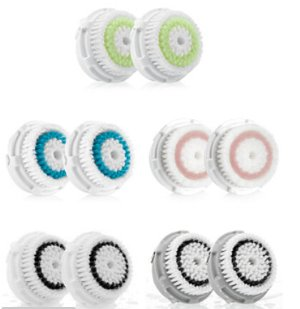 $30.8(reg.$44) Clarisonic Brush Head Dual Pack Options