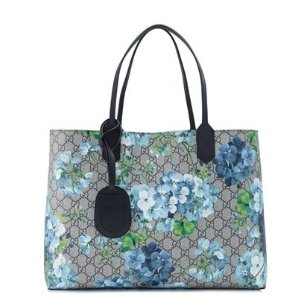 Gucci Reversible GG Blooms Leather Medium Tote