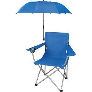 $5 Ozark Trail Outdoor Chair Umbrella Attachment, blue