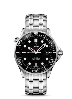 $2645Omega Seamaster Black Dial Automatic Men's Watch
