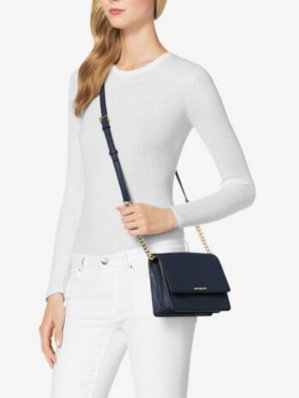$74.25(reg.$198.00) MICHAEL MICHAEL KORS  Daniela Small Leather Crossbody