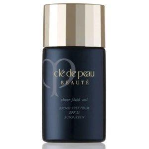 Cle de Peau Beaute Sheer Fluid Veil SPF 21, 1.0 oz.