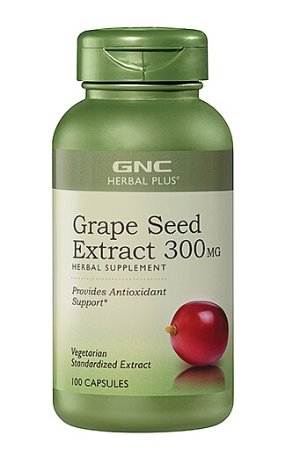 $9.99GNC Herbal Plus® Grape Seed Extract 300 mg 100 Capsules