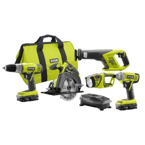 $149.00 18-Volt ONE+ Lithium-Ion Super Combo Kit (5-Piece)