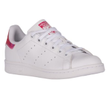 adidas Originals Stan Smith - Girls' Grade School - Casual - Shoes - White/White/Bright Pink