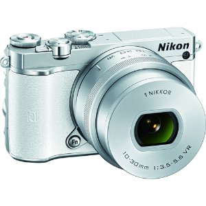 $396.95Nikon 1 J5 Mirrorless 20.8MP Digital Camera w/ 10-30mm Lens White Factory Refurbished