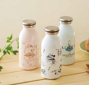 From $17.76 mosh!×Disney Stainless Slim Bottle 350ml