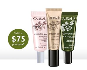 Free 3 Deluxe Samples ($81 Value) with $75+ Purchase @ Caudalie