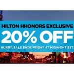 Hilton Hhonors Exclusive Sale @ Hilton