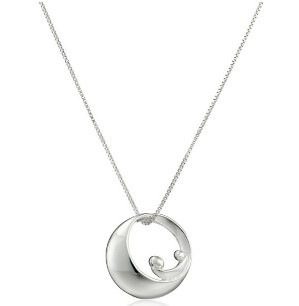 $19.88(reg.$22.64) Sterling Silver Mother-and-Child Silhouette Pendant Necklace, 18