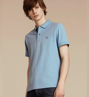 Up to 25% Off Burberry Brit Short Sleeve Regular Fit Polo Sale @ Bloomingdales