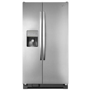 Whirlpool 25 cu. ft. 36-inch Wide Large Side-by-Side Refrigerator