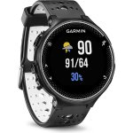 Garmin Forerunner 230 GPS Running Watch, Black and White includes free Charging Clip