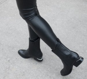 with Alexander Wang  Black Anouck Ankle Boots Purchase @ SSENSE