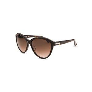 Calvin Klein CK4256S-5715004 Sunglasses,Women's Round Dark Havana Sunglasses, Sunglasses Calvin Klein Sunglasses Sunglasses