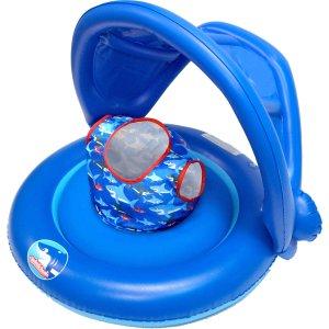 SwimSchool 2-in-1 Baby Boat, Boy's, Splash & Giggle