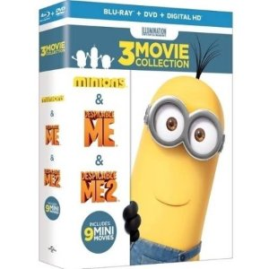 $17.99Despicable Me 3-Movie Collection (Blu-ray + DVD + Digital HD)
