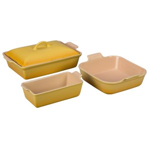 3-Piece Heritage Bakeware Set | Le Creuset