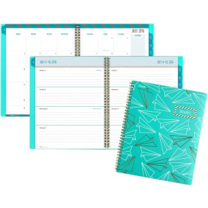 Mead® 2016 - 2017 Gold & Bold Academic Weekly/Monthly Planner (CAW508_17) - MEAD