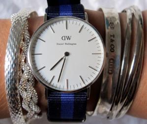 $63.1 Daniel Wellington Women's Swansea Silver Watch @ Amazon