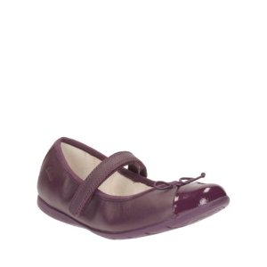Dance Rosa Toddler Purple Leather - Shoes for Girls - Clarks® Shoes Official Site
