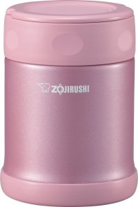 $26.92 Zojirushi SW-EAE35PS Stainless Steel Food Jar, 12-Ounce/0.35-Liter, Shiny Pink