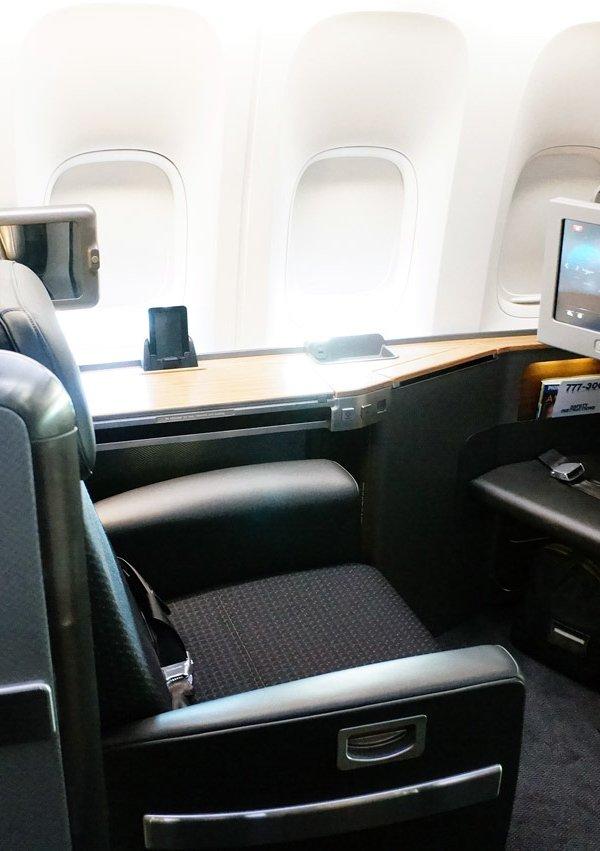 世界上最豪华的飞机头等舱