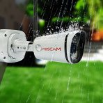 最新版立减$20!现价$79.99 Foscam FI9800P 720P 户外高清防水摄像机