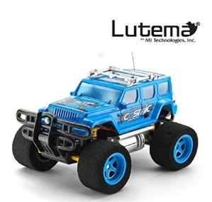 $9.99 Lutema Cosmic Rocket 4CH Remote Control Truck, Blue