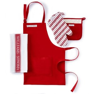 Williams-Sonoma Kitchen Linens Essentials Set, Claret | Williams-Sonoma