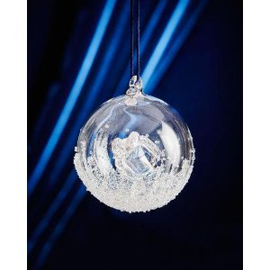 SWAROVSKI 2016 Annual Crystal Ball Christmas Ornament