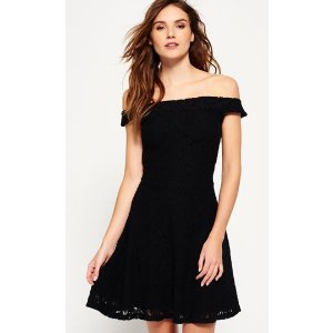 Katerina Bardot Lace Dress