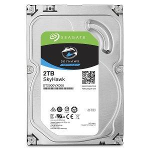$63.99 闪购!史低价Seagate SkyHawk 2TB 监控级硬盘