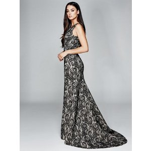 Mackenzie Lace Gown | GUESS by Marciano