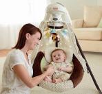 $119.88 Fisher-Price Starlight Papasan Cradle Swing, Nite Nite Monkey