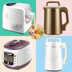 Joyoung Soy Milk Maker, Midea Rice Cooker and Cuckoo Pressure Cooke Sale @ Huarenstore