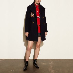 COACH Designer Coats | Naval Officer Coat