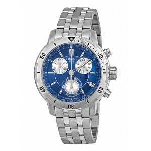 Tissot Men's PRS 200 Stainless Steel Blue Dial | World of Watches