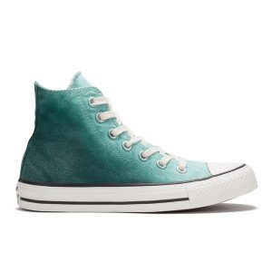 Converse Women's Chuck Taylor All Star Sunset Wash Hi-Top Trainers - Motel Pool/Rebel Teal - Free UK Delivery over £50