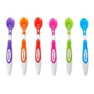 Munchkin BPA Free 6 Pack Soft Tip Infant Spoon - Munchkin - Babies