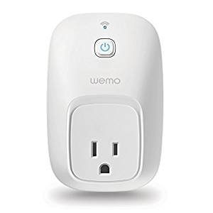$20.99-$31.99 WeMo Smart Switch, Wi-Fi, Works with Amazon Alexa
