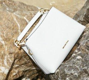 $179(Org. $358) MICHAEL MICHAEL KORS Portia Large Saffiano Leather Shoulder Bag @ Michael Kors