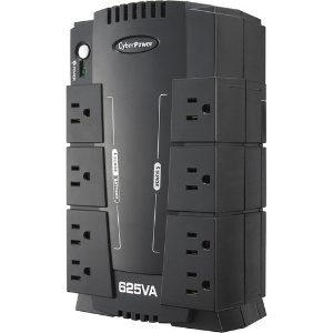 CyberPower 625VA 8-Outlet UPS Battery Backup