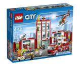 LEGO City Fire Fire Station, 60110 - Walmart.com