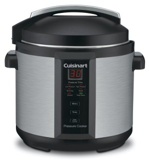 Conair Cuisinart CPC-600 6 Quart 1000 Watt Electric Pressure Cooker (Stainless Steel)
