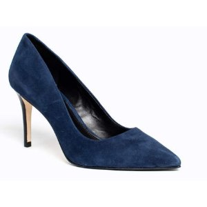ROMA PUMP IN SUEDE