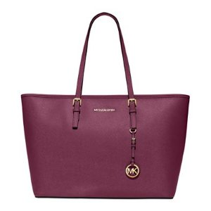 MICHAEL Michael Kors Jet Set Travel Medium Top Zip Multifunction Tote - Handbags & Accessories - Macy's