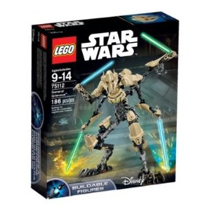 Lowest price! $24.49 LEGO Star Wars 75112 General Grievous Building Kit